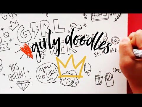 GIRL POWER! 🌈 Girly Doodles | Doodles By Sarah