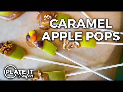 Dippin' Caramel Apple Pops | Plate It Perfect