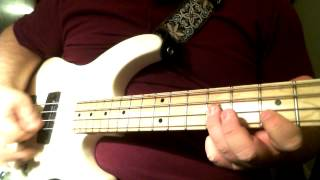 "Joy Division ""Love Will Tear Us Apart"" Bass cover"