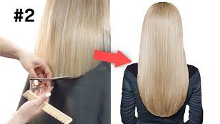 Стрижка на средние и длинные волосы Ева Лорман Быстрые Стрижки стрижка Овал