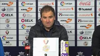 Ruedas de prensa tras el Osasuna - Mallorca | 20.1.19