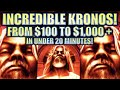 ★HUGE BIG WIN! FROM $100 TO $1000+ UNDER 20 MIN!★ KRONOS UNLEASHED $6.00 MAX BET Slot Machine REPOST
