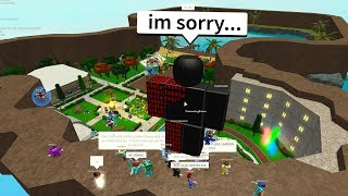 I FOUND THE HACKER ON MY ROBLOX HANGOUT!!!!