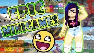 ¿Soy noob y mis suscriptores me trollean? 😂 |🎮| Epic Minigames #01 |🎮| Roblox