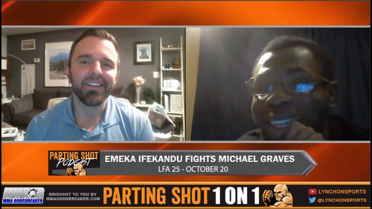 "LFA 25's Emeka Ifekandu ""I thought Michael Graves would back out like everyone else"""