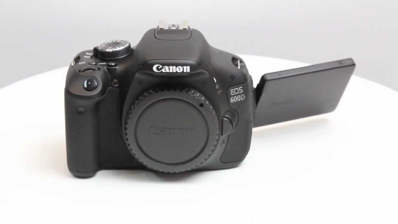 Canon 600D twin lens kit