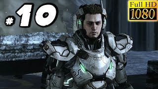 Vanquish Gameplay Walkthrough: #10 - STEALTH SNIPER! - PC 1080p 60fps