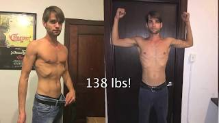 How to gain weight fast - 45 Day Usana + p90x3 workout & Transformation results!