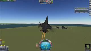 F-18 In Kerbal Space Program