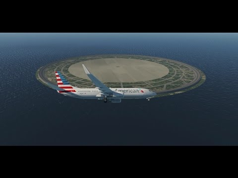 Landing on a Circular Runway!!