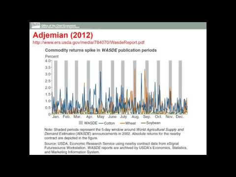 Big Data : Robert Johansson, Chief Economist, USDA