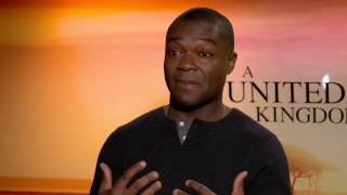 A United Kingdom David Oyelowo Speaks on Being in an interracial marriage
