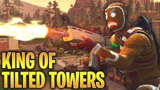KING OF TILTED TOWERS? SNIPING EVERYONE! Fortnite Battle Royale