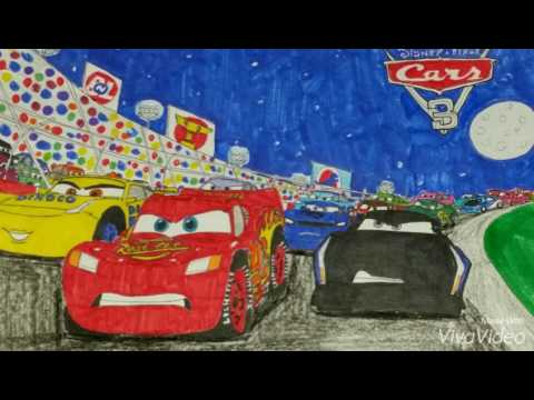 My Cars 3 drawings - YouTube