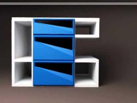 неновящивый дизайн тумбы под телевизор