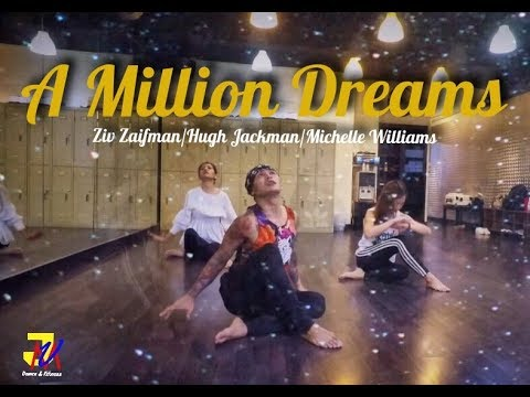 A Million Dreams - Ziv Zaifman , Hugh Jackman & Michelle Williams | Contemporary Dance | JMVDanceTV
