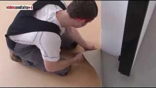 Jak se pokládají podlahy PVC Tarkett Jirka Moták