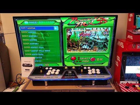 Pandora's Box 5S [bootleg], 2-player Arcade in a Box  | Review