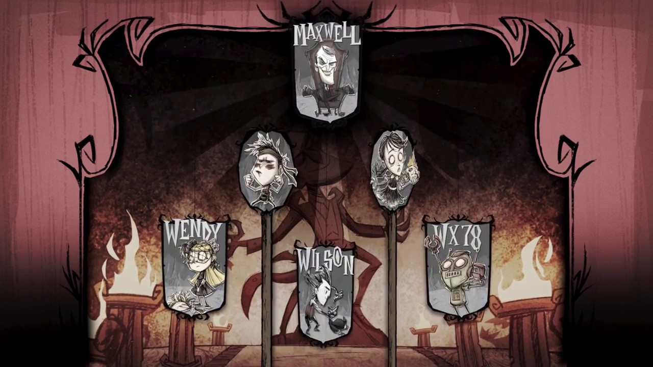 Dont Starve Together Animated Wallpaper Youtube