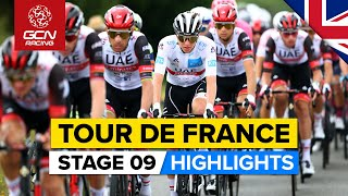 Tour de France 2021 Stage 9 Highlights   A New Podium Contender Emerges From Mayhem Of The Mountains