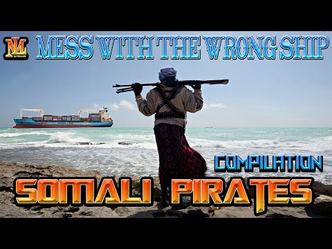 Somali Pirates mess with the WRONG Ship Compilations (NEW)