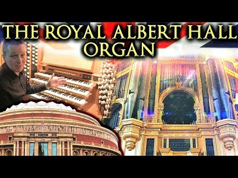 THE ROYAL ALBERT HALL ORGAN - AN INTRODUCTION - JONATHAN SCOTT