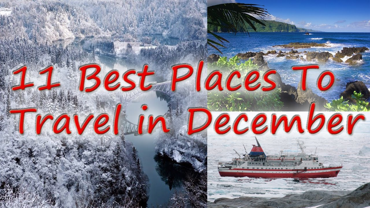 good vacation spots in december