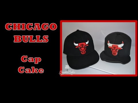 Chicago Bulls Cap Cake - (How to make)