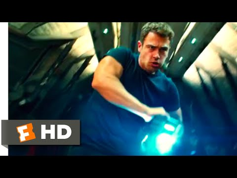 The Divergent Series: Allegiant (2016) - Four Fights Back Scene (4/10) | Movieclips