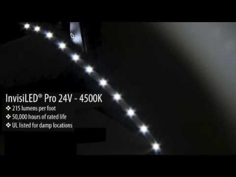 invisiled pro 24v 2700k 3000k and 4500k