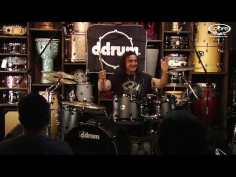 Vinny Appice 2013 Live Clinic at GoDpsMusic