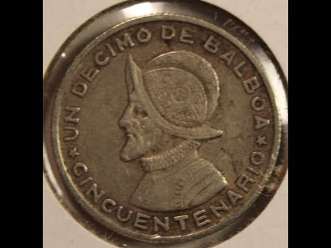 Old Panama Coins