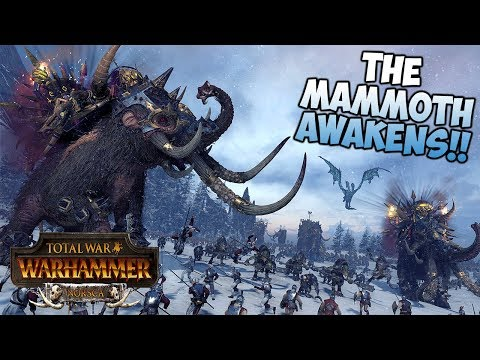 Total War: Warhammer - Norsca - The Mammoth Awakens! |
