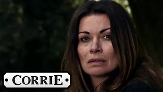 Download Video Coronation Street - Carla Spots a Mysterious Figure Wearing Hayley's Red Coat MP3 3GP MP4
