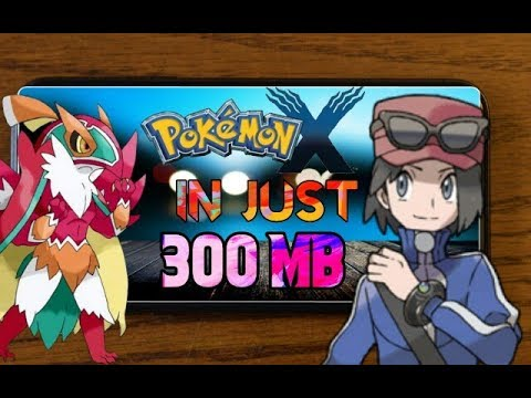 Pokemon X Ultra Highly Compressed Rar For Android Download Very Easily