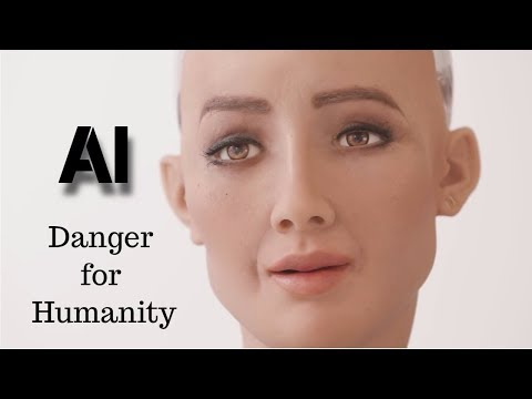 Artificial Intelligence(A.I) Danger for Humanity?? Sophia