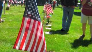 Roselawn Cemetary Memorial Day Observance