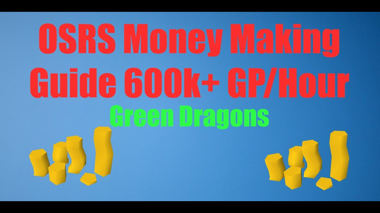 how to kill green dragons osrs