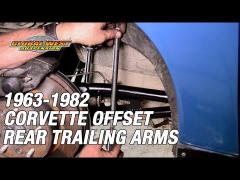 1963-82 Offset Corvette Rear Trailing Arms - Why Global West Builds the TBC-9