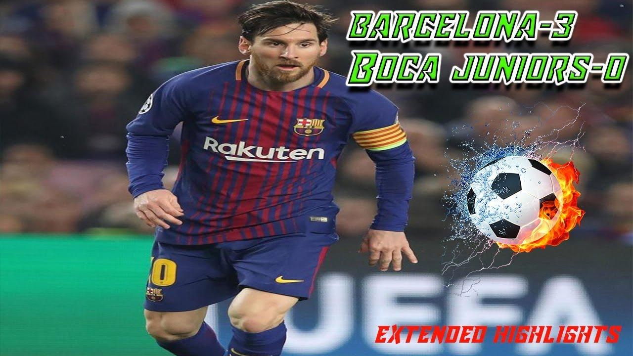 Barcelona 3 – 0 Boca Juniors (Highlights Video )