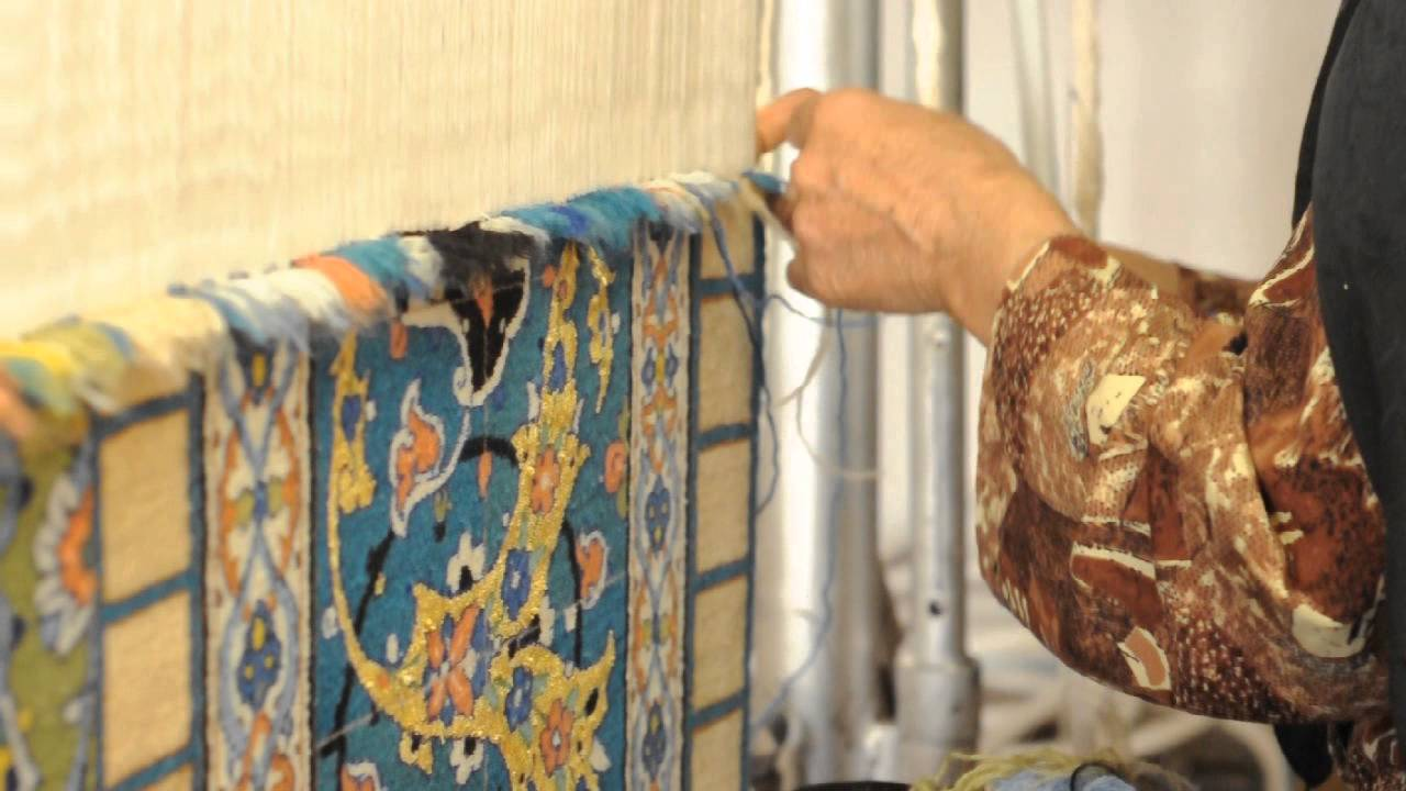 Persian Carpet Weaving Youtube