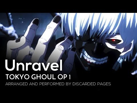 """Tokyo Ghoul OP 1 - """"Unravel"""" (English)【Metal Cover】 2018 Remix"""