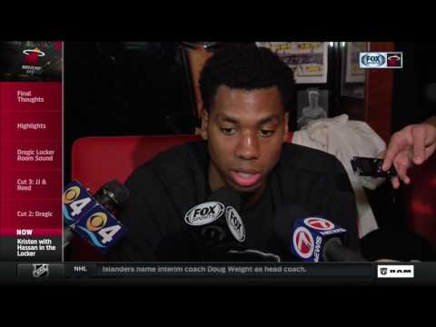 Hassan Whiteside -- Miami Heat vs. Washington Wizards 04/12/2017