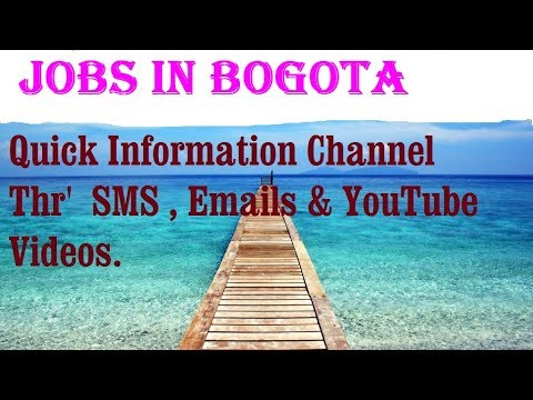 Jobs in BOGOTA  City for freshers & graduates. industries, companies.  COLOMBIA.