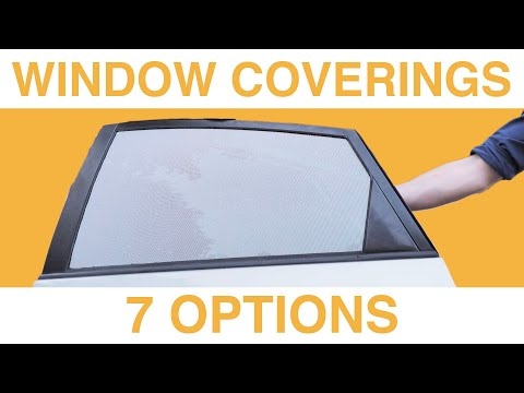 BLOCK CAR WINDOWS, Privacy Options For Sleeping/Living In A Car | LIVE EASY