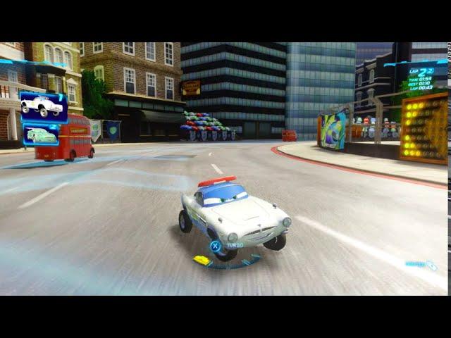 cars 2: the video game | Finn: airport security - Buckingham sprint | potatoe