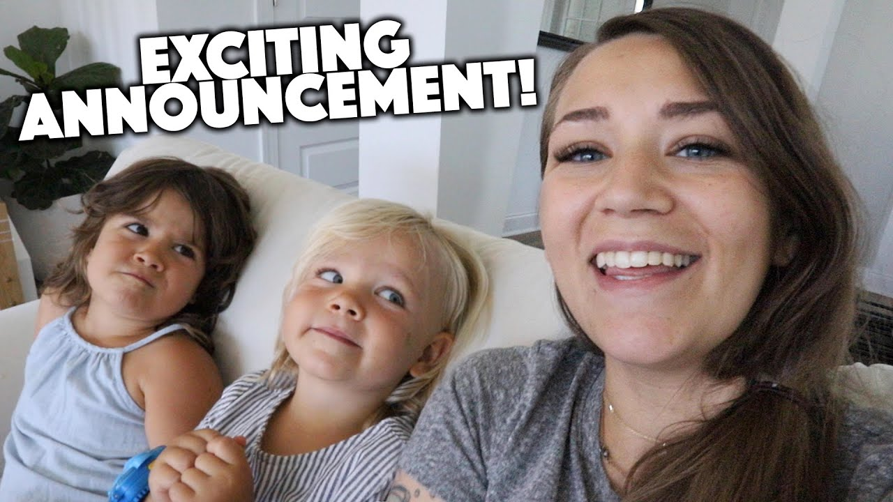 WE HAVE A FUN ANNOUNCEMENT!!