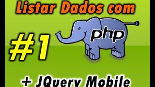 Listar dados com PHP e Jquery Mobile 1