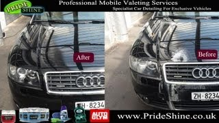 audi a3 convertible buffing and polishing service by pride shine
