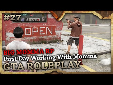 First Day Working With Momma [BIG MOMMA RP] (GTA Role Play Highlights #27)